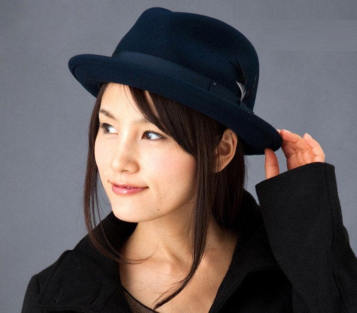 Шляпа BAILEY арт. 7001 TINO (темно-синий) от HATSANDCAPS